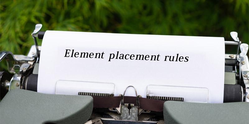 HTML5.1要素の配置ルール