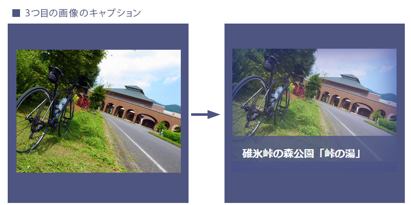 jQueryで画像とキャプションの表現方法!3