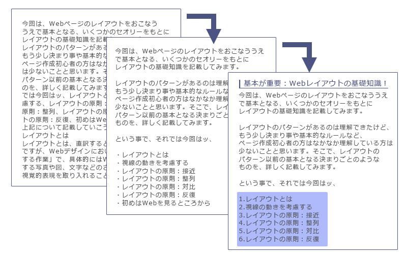 基本が重要:Webレイアウトの基礎知識!8